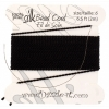 Dazzle-it 100% Silk Bead Cord with needle 2M #6(0.70mm) Black